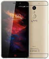 Смартфон ORIGINAL UMI MAX Gold (8 Core; 2.0Ghz; 3GB/16GB; 4000 mAh)