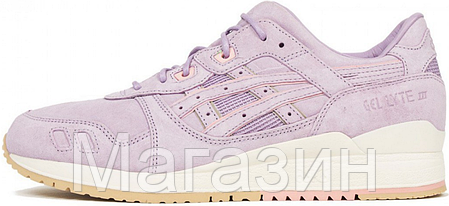 Женские кроссовки Asics Gel Lyte 3, асикс гель лайт 3 сиреневые, фото 2