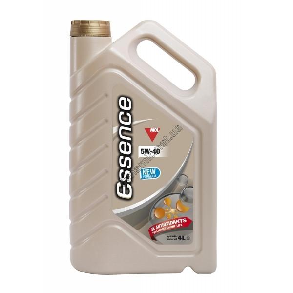 Моторное масло MOL Essence 5W40 (4L) синтетика для Volkswagen , BMW , Mercedes , Renault , Ford , GM Opel