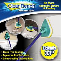 Универсальная чистящая щетка швабра Clean Reach 3 в 1