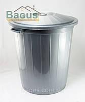 Бак пластиковый 45 л с крышкой Горизонт (GR-02042)