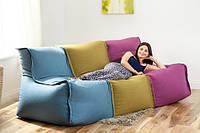 """Модульный диван """"Детроит"""" цвет  001, бескаркасный диван,диван мешок,диван бескаркасный,диван,мягкая мебель."""