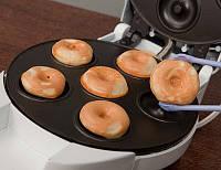 Вафельница для приготовления пончиков, бубликов Donut Maker DM 3160