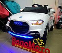 Электромобиль детский с мягкими колесами Audi M 2763 белый