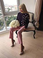 63a543d8b35 Красивый женский стильный брючный костюм