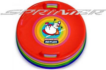 Саночный круг MARMAT d 60 см цвета в ассортименте.