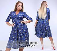 Платье женское трикотажное 54-64