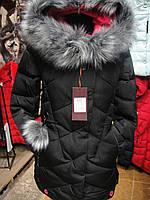 Пуховик зима женский с искусственным и натуральным мехом р.S-2XL (42-50)