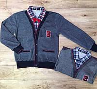 Кардиган с рубашкой обманкой для мальчиков Buddy Boy, 3/4-7/8 лет .