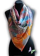 Как завязывать платки, шали, палантины