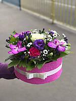 """Коробка с красивыми цветами """"Краски осени"""", фото 1"""