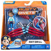 Игровой набор System Ant Drill Маленький инженер Расти- Rusty Rivets - Ржавые заклепки, Spin Master