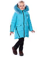 """Зимнее пальто для девочек """"Полин"""""""