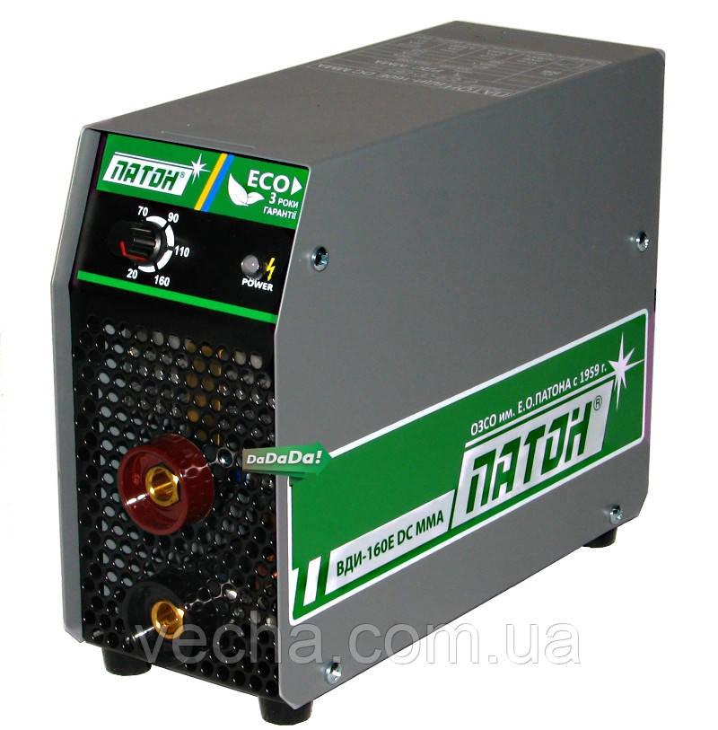 Инвертор Патон ВДИ 160Е DC cварочный (4.4 кВт, небольшой вес, наплечн. ремень)