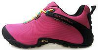 Женские кроссовки Merrell Gore-Tex Pink Меррел розовые