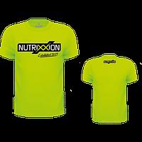 Футболка спортивная Nutrixxion, зеленая, S