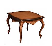Солидный деревянный столик - № 1. (65х65х50 см)