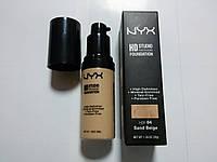 Тональный крем NYX HD Studio Photogenic Foundation