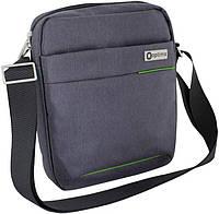 Мужская сумка через плечо OPTIMA O97410, серый
