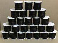 Шнур вощёный чёрный, упаковка 25 мотков по 23 м, фото 1