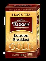 Черный листовой чай «Edems London Breakfast GOLD», 100г