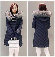Классическая куртка пуховик с капюшоном брошь. Стильный дизайн. Хорошее качество. Доступная цена. Код: КГ1907