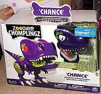 Интерактивный детеныш динозавр дино фиолетовый Chance Zoomer Chomplingz Dinosaur Zoomer Dino