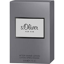 Лосьон после бритья  s.Oliver For Him men de lotion 50 мл