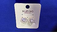 Серьги клипсы Xuping