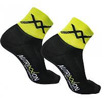 Носки Nutrixxion, черно-желтые,  L