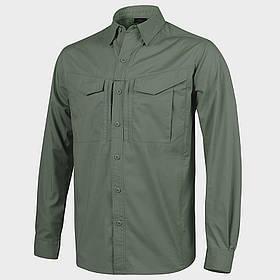 Рубашка Defender Mk2 с д/рукавами - PolyCotton Ripstop - олива