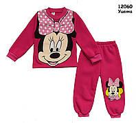 Теплый костюм Minnie Mouse для девочки. 4 года, фото 1