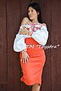 Блузка бохо вышиванка, белая, лен, этно стиль, Bohemia, фото 7