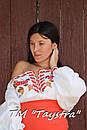Блузка бохо вышиванка, белая, лен, этно стиль, Bohemia, фото 3