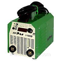 Сварочный аппарат Атом I-180D с кабелем 3+2 и зажимами Abicor Binzel, фото 1