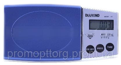 Ювелирные весы Diamond 100 (100g; d=0.1g)