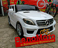 Электромобиль Джип Mercedes ML 63 белый