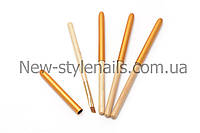 Кисти для геля №8, деревянная ручка