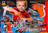 Детский набор - Конструктор 661-301 Шуруповерт