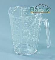 Кружка мерная пластиковая 250 мл Горизонт (GR-03004)