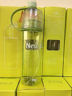 Бутылочка для воды NEW Bottle с распылителем