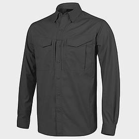 Рубашка Defender Mk2 с д/рукавами - PolyCotton Ripstop - черная