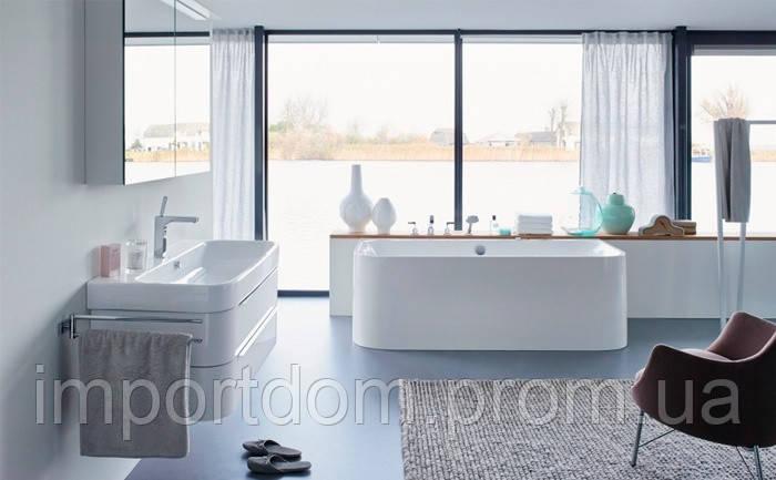 Ванна акриловая Duravit Happy D.2 угол слева 180x80