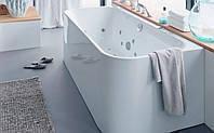 Ванна акриловая Duravit Happy D.2 с двумя наклонами+панель+ножки 180x80