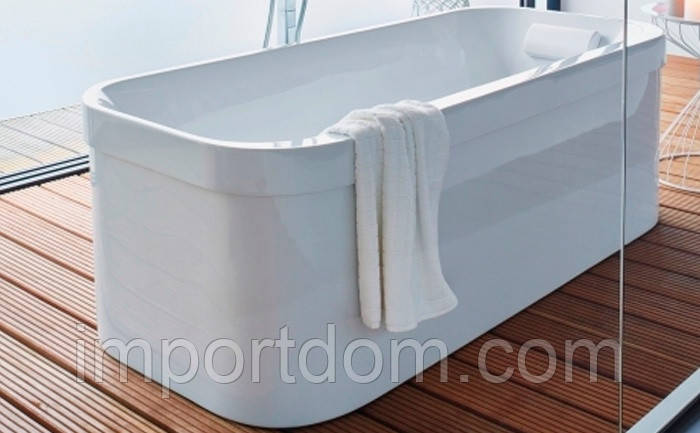 Ванна акриловая Duravit Happy D.2 с двумя наклонами 180x80