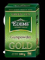 Зеленый листовой чай «Edems Gunpowder GOLD», 100г