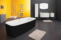 Ванна акриловая Kolpa-San Othello-FS 185x90 Black&White