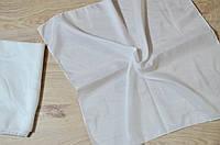 Головной платок белый 80х80 от 10 штук