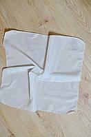 Головной платок белый  60х60 от 10 штук