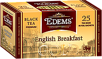 "Чай в сашетах ""Edems English Breakfast GOLD"", 25ф/п"
